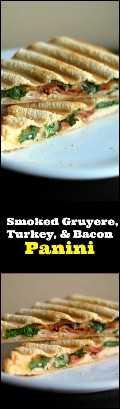 Gruyère Defumado, Peru e Bacon Panini   Receitas latinas!