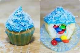 ¡Haz que el día especial de tu superestrella de cumpleaños sea aún más mágico con estos divertidos y festivos cupcakes de piñata! ¡Una receta de fiesta para niños súper fácil que les ENCANTARÁ!