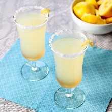 Mocktail de limão e gengibre