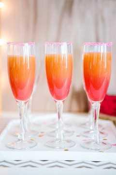 cocktail ombre de toranja