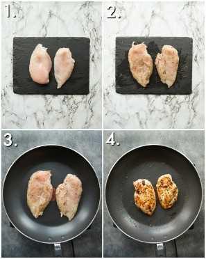 como fazer frango frito italiano - 4 fotos passo a passo