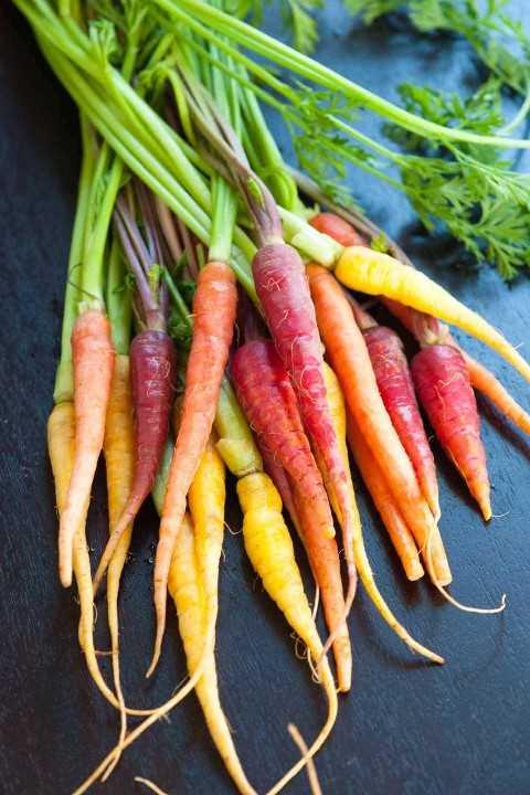 Zanahorias arcoiris
