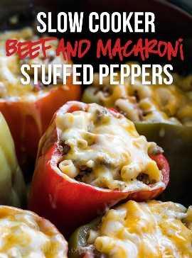 """¡Estos pimientos rellenos de macarrones de carne de res de cocción lenta rápida y fácil están hechos con carne molida y son los favoritos de la familia! """"Width ="""" 675 """"height ="""" 912 """"srcset ="""" https://iwashyoudry.com/wp-content/uploads/2017 /09/Slow-Cooker-Beef-and-Mac-Stuffed-Peppers-3-copy.jpg 675w, https://iwashyoudry.com/wp-content/uploads/2017/09/Slow-Cooker-Beef-and- Mac-Stuffed-Peppers-3-copy-600x811.jpg 600w """"tamaños ="""" (ancho máximo: 675px) 100vw, 675px"""