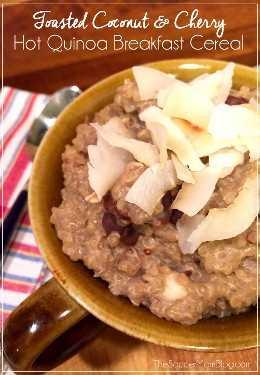Minha nova receita de café da manhã favorita para um cereal de quinoa repleto de proteínas. É fácil e você pode ficar à frente da semana! #AlmondMilkAtualizar AD