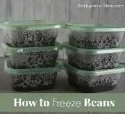 Como congelar feijão