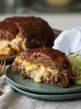 """¡A toda mi familia LE ENCANTA este pastel de carne relleno de queso y macarrones! ¡Está lleno de macarrones con queso extra y el pastel de carne está perfectamente tierno! """"Width ="""" 675 """"height ="""" 911 """"srcset ="""" https://iwashyoudry.com/wp-content/uploads/2017/08/Macaroni-and-Cheese -Stuffed-Meatloaf-9.jpg 675w, https://iwashyoudry.com/wp-content/uploads/2017/08/Macaroni-and-Cheese-Stuffed-Meatloaf-9-600x810.jpg 600w """"tamaños ="""" (máx. -ancho: 675px) 100vw, 675px"""