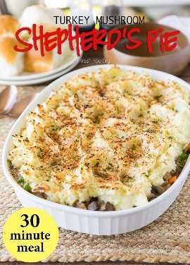 """¡Este reconfortante pastel de pavo con champiñones es una receta rápida de cena de 30 minutos que encantará a toda la familia! """"Width ="""" 675 """"height ="""" 941 """"srcset ="""" https://iwashyoudry.com/wp-content/uploads/2016/ 12 / Turkey-Mushroom-Sheppards-Pie-5-copy.jpg 675w, https://iwashyoudry.com/wp-content/uploads/2016/12/Turkey-Mushroom-Sheppards-Pie-5-copy-600x836.jpg 600w """"tamaños ="""" (ancho máximo: 675px) 100vw, 675px"""