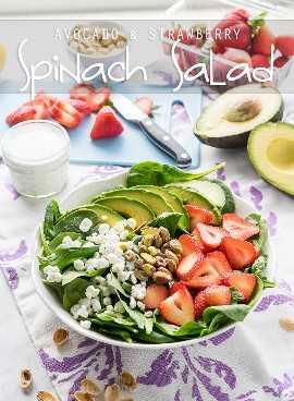 """¡Esta ensalada de espinacas con aguacate y fresas es una receta rápida y fácil para el almuerzo que es perfecta para los calurosos días de verano! """"Width ="""" 675 """"height ="""" 921 """"srcset ="""" https://iwashyoudry.com/wp-content/uploads/2016/06 /Avocado-Strawberry-Spinach-Salad-copy.jpg 675w, https://iwashyoudry.com/wp-content/uploads/2016/06/Avocado-Strawberry-Spinach-Salad-copy-600x819.jpg 600w """"tamaños ="""" (ancho máximo: 675px) 100vw, 675px"""