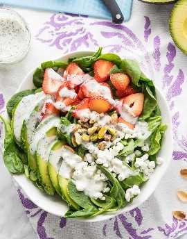 """¡Esta ensalada de espinacas con aguacate y fresas es una receta rápida y fácil para el almuerzo que es perfecta para los calurosos días de verano! """"Width ="""" 675 """"height ="""" 862 """"srcset ="""" https://iwashyoudry.com/wp-content/uploads/2016/06 /Avocado-Strawberry-Spinach-Salad-6.jpg 675w, https://iwashyoudry.com/wp-content/uploads/2016/06/Avocado-Strawberry-Spinach-Salad-6-600x766.jpg 600w """"tamaños ="""" (ancho máximo: 675px) 100vw, 675px"""
