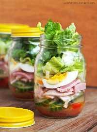 33 Ensaladas Saludables Mason Jar - Ensaladas Chef en un Tarro