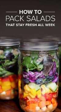 33 Ensaladas Saludables Mason Jar - Ensalada fresca toda la semana