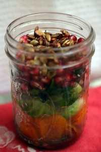33 Ensaladas Saludables Mason Jar - Ensalada Ultimate Fall Mason Jar
