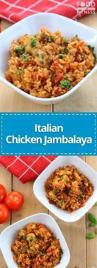 Receta italiana de pollo y jambalaya | # pollo # receta