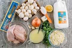 Chicken Tetrazzini es un horneado de pasta de pollo reconfortante, cursi y supremamente cremoso. ¡Esta cazuela de pasta de pollo hará que su familia rellene sus tazones!