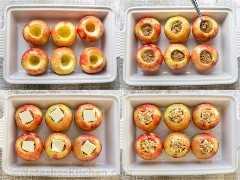 Cómo hornear manzanas en una cacerola