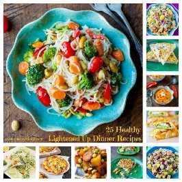 25 recetas de cena saludables y aligeradas