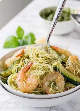 """¡TAN FÁCIL! ¡Esta pasta de camarones al pesto es mi nueva receta favorita de cena fácil! """"Width ="""" 675 """"height ="""" 929 """"srcset ="""" https://iwashyoudry.com/wp-content/uploads/2017/07/Shrimp-Pesto-Pasta- 7.jpg 675w, https://iwashyoudry.com/wp-content/uploads/2017/07/Shrimp-Pesto-Pasta-7-600x826.jpg 600w """"tamaños ="""" (ancho máximo: 675px) 100vw, 675px"""