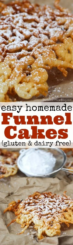 A gluten-free funnel cake recipe that is sure to satisfy your sweet tooth cravings, without the wheat!