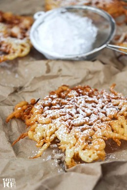 A classic funnel cake recipe that is crispy on the outside and fluffy on the inside ... you would never believe they are actually gluten free!