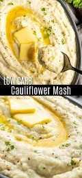 Este purê de couve-flor Keto é um incrível prato de baixo carboidrato para jantares durante a semana e um ótimo substituto de ceto purê de batata para o jantar de Ação de Graças ou Natal. Esta receita fácil de purê de couve-flor é batida com cream cheese, manteiga e um liquidificador manual MultiQuick 5 Vario para fazer o MELHOR purê de couve-flor, cremoso e extravagante! #ad #braun