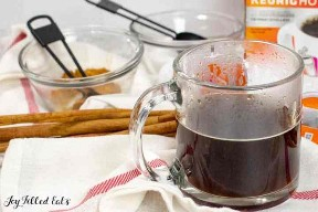 brewed coffee in a cup