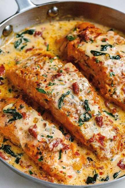 receita cremosa de salmão 3