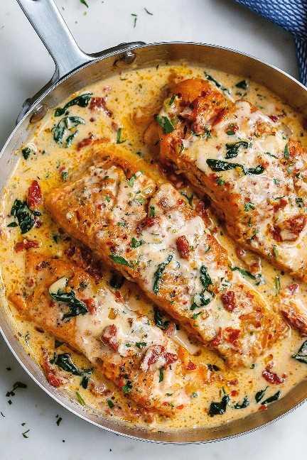 receita cremosa de salmão 2