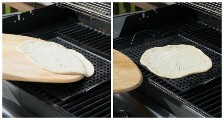 Domingo Lição de Culinária: Como Grelhar Pizza: Uma Festa de Família