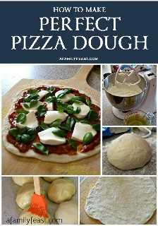 Masa de pizza perfecta