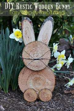 """Ideas de decoraciones de Pascua """"ancho ="""" 400 """"altura ="""" 600 """"srcset ="""" https://juegoscocinarpasteleria.org/wp-content/uploads/2020/02/1582056307_709_15-ideas-sencillas-de-decoraciones-de-Pascua-de-bricolaje-que.jpg 600w, https: // juelzjohn.com/wp-content/uploads/2019/04/Easter-decorations-ideas-7-300x450.jpg 300w, https://juelzjohn.com/wp-content/uploads/2019/04/Easter-decorations-ideas -7-533x800.jpg 533w """"tamaños ="""" (ancho máximo: 400px) 100vw, 400px """"data-pin-url ="""" https://juelzjohn.com/easter-decorations-ideas/ """"data-pin-media = """"https://juegoscocinarpasteleria.org/wp-content/uploads/2020/02/1582056307_709_15-ideas-sencillas-de-decoraciones-de-Pascua-de-bricolaje-que.jpg"""" data-pin-description = """"Ideas de decoraciones de Pascua"""" /></p> </p> <p>Una de las mejores y más únicas ideas de decoraciones de Pascua. Como puede ver en la imagen, este bricolaje es un poco práctico. Se trata de cortar madera de pino en diferentes tamaños de disco. No todo el mundo puede hacer eso. Me encanta lo creativo que es.</p> <p>Tutorial completo en mamá desatada</p> </p> <p><strong>Conejito de Pascua de madera recuperada</strong></p> <p data-imagelightbox="""