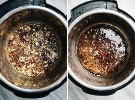 Cómo hacer una olla asada en la olla instantánea.