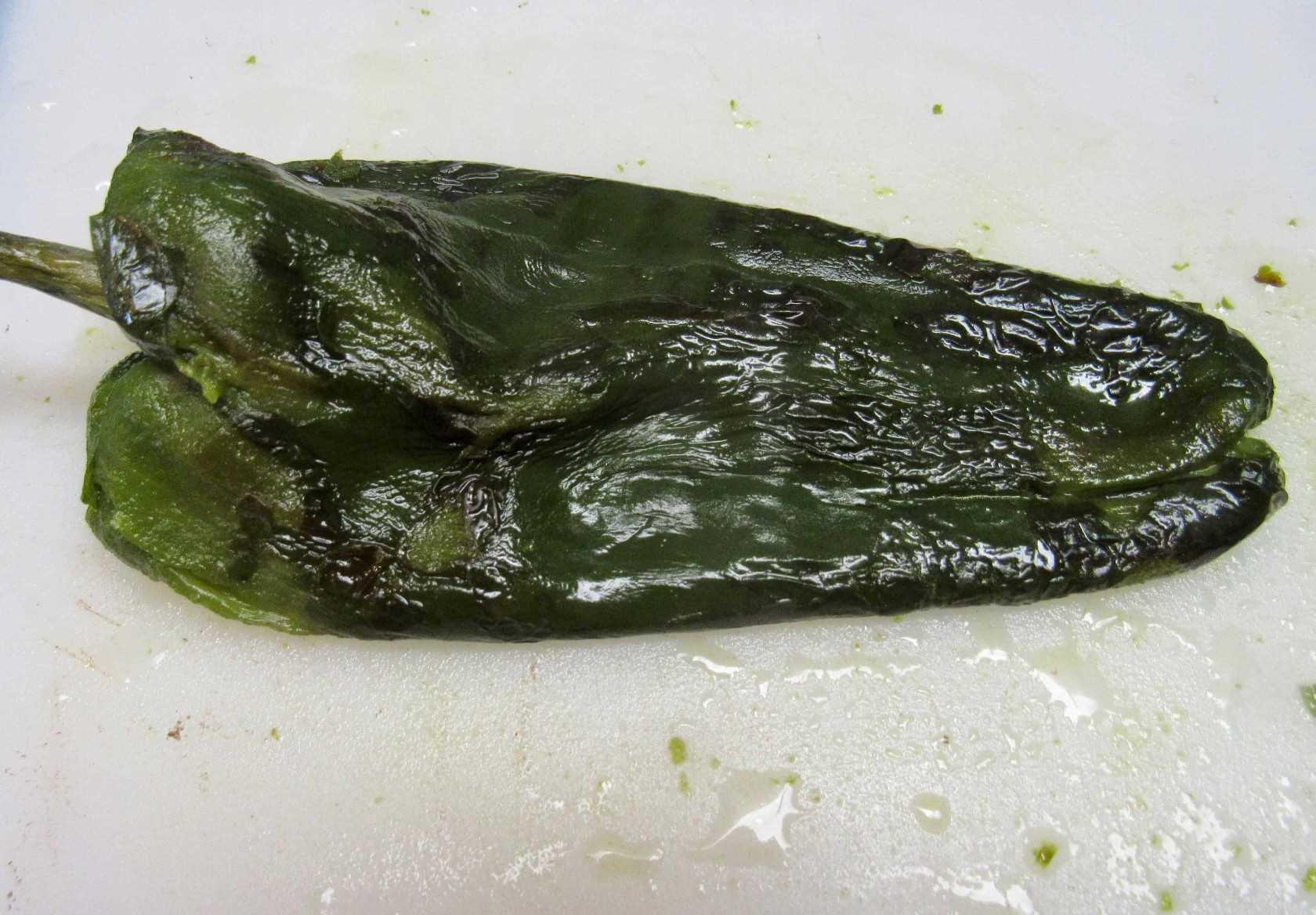 Pollo Cremoso Poblano - Keto y Bajo en Carbohidratos