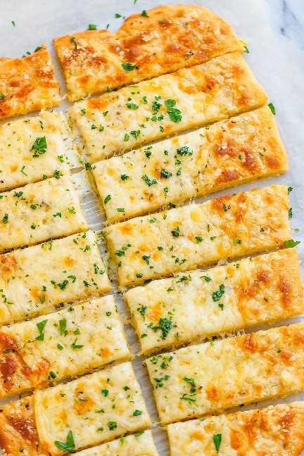 Keto Breadsticks receta 2