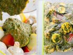 Espetos de legumes grelhados marroquinos 2
