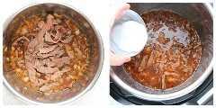 Instant Pot Beef y brócoli paso 2 Instant Pot Beef y brócoli