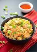 Pollo arroz frito