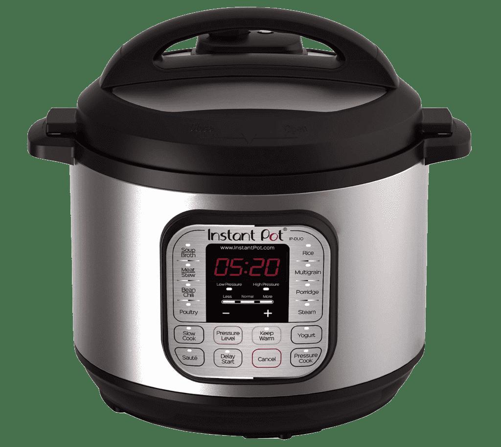 Olla instantánea DUO80 8 Qt 7 en 1 olla a presión programable de usos múltiples, olla de cocción lenta, olla arrocera, vaporera, salteado, yogur y calentador