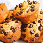 Muffins de calabaza con chispas de chocolate