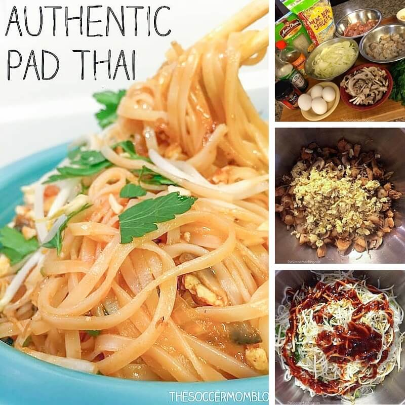 Una receta de fideos Pad Thai fácil y auténtica para hacer tu plato favorito para llevar en casa.