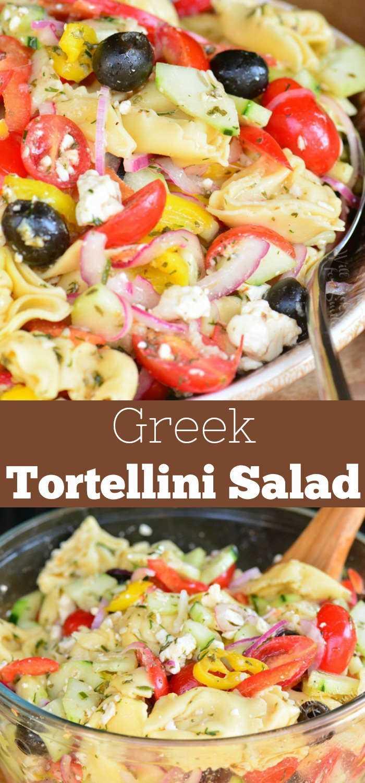 Salada de massa grega