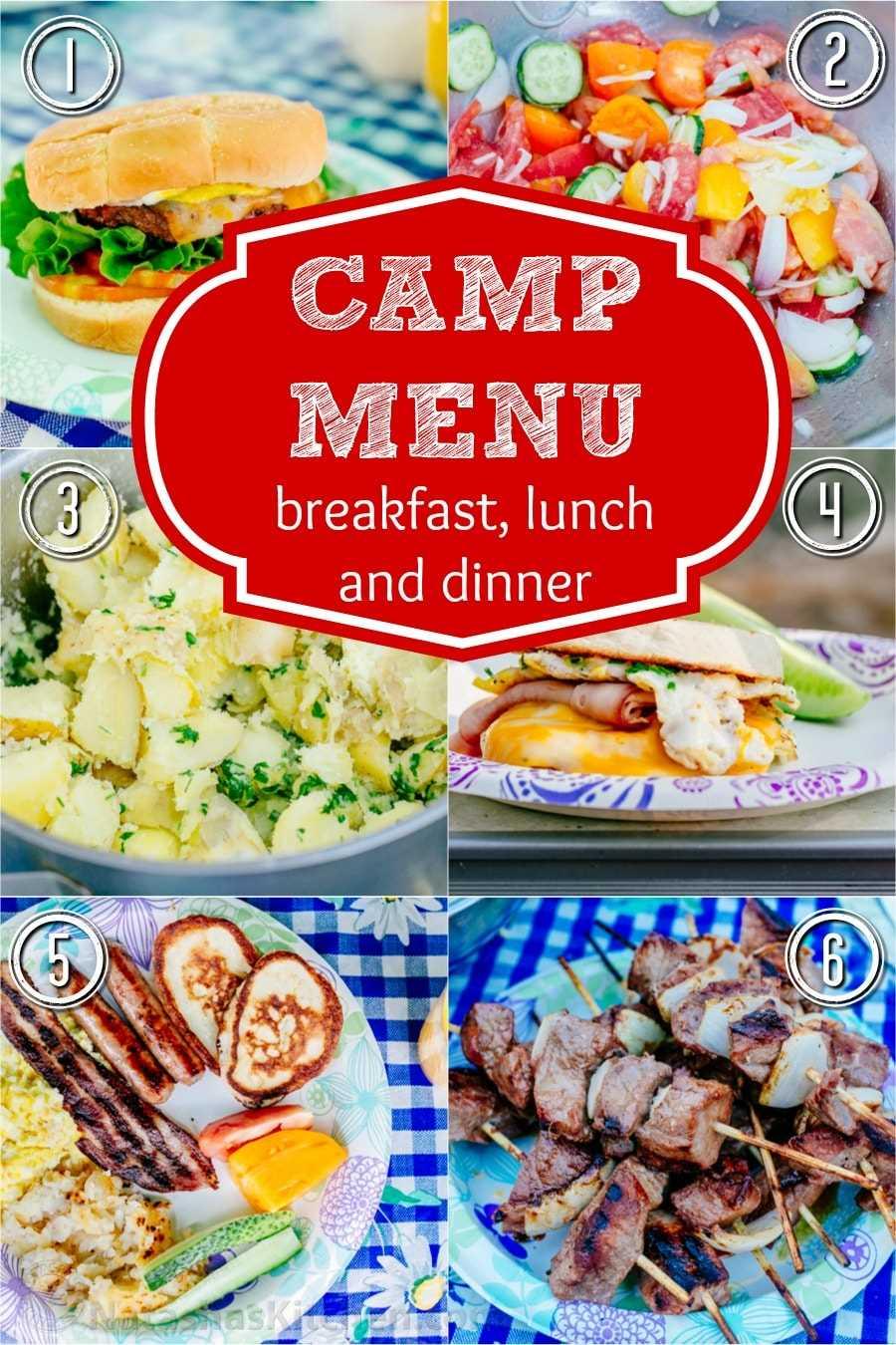 A refeição do acampamento deste ano foi excelente! Compartilhando nossas melhores receitas e idéias de acampamento para café da manhã, almoço e jantar. Isso me faz querer ir acampar novamente! O | natashaskitchen.com