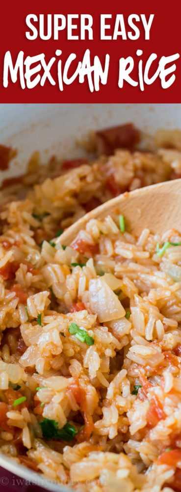 Esta receita fácil de arroz mexicano é preparada em uma única panela em menos de 20 minutos para obter o lado mexicano perfeito!