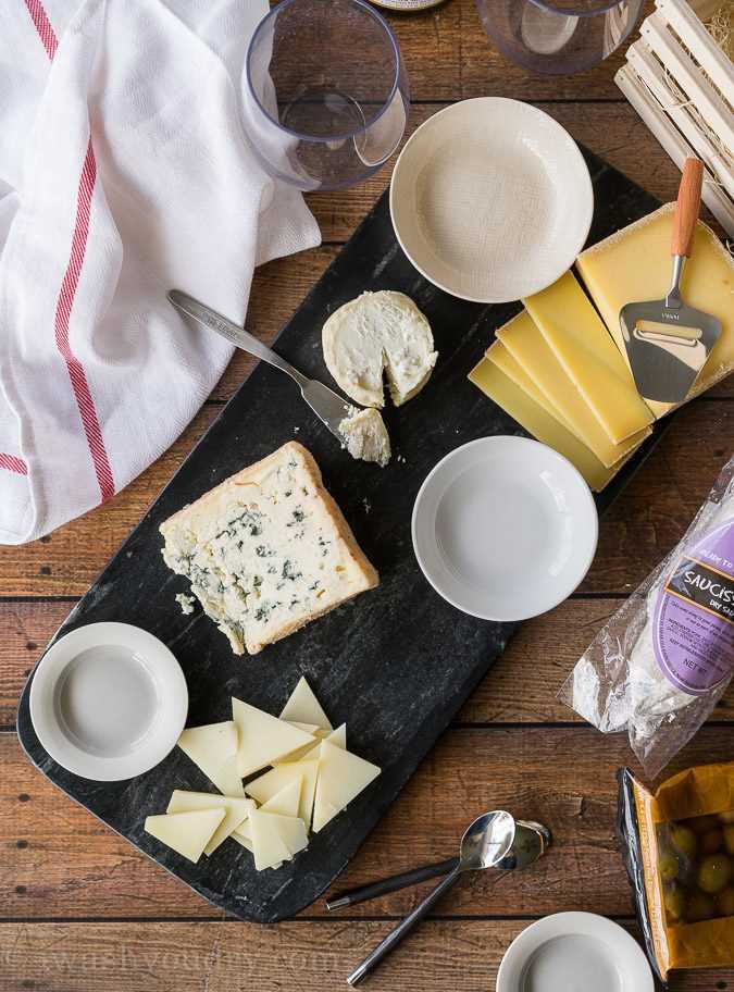 La guía fácil sobre cómo hacer una tabla de quesos