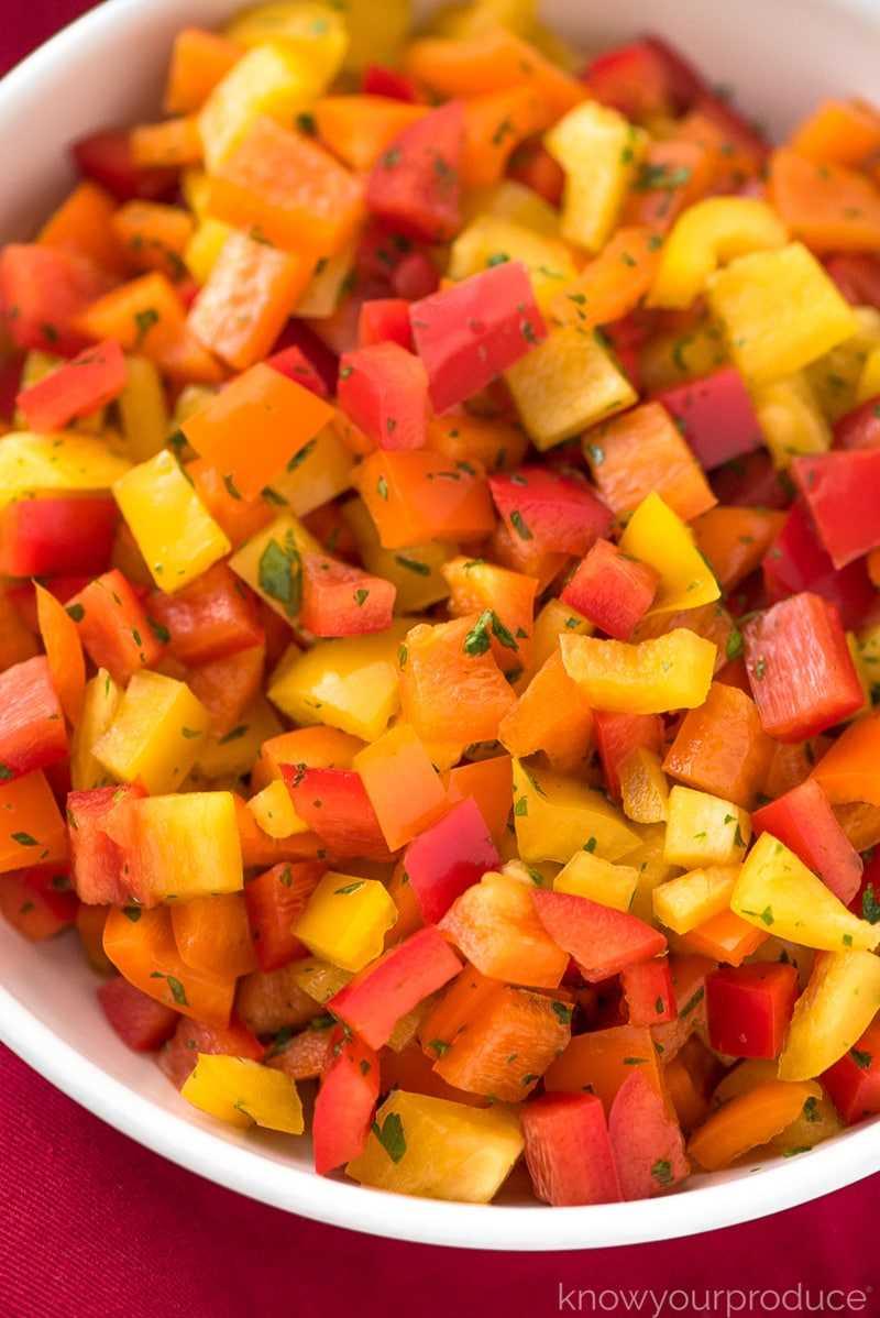 salada de pimenta