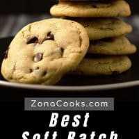 La mejor receta de galletas blandas