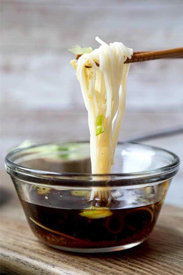 macarrão somen com molho   pickledplum.com
