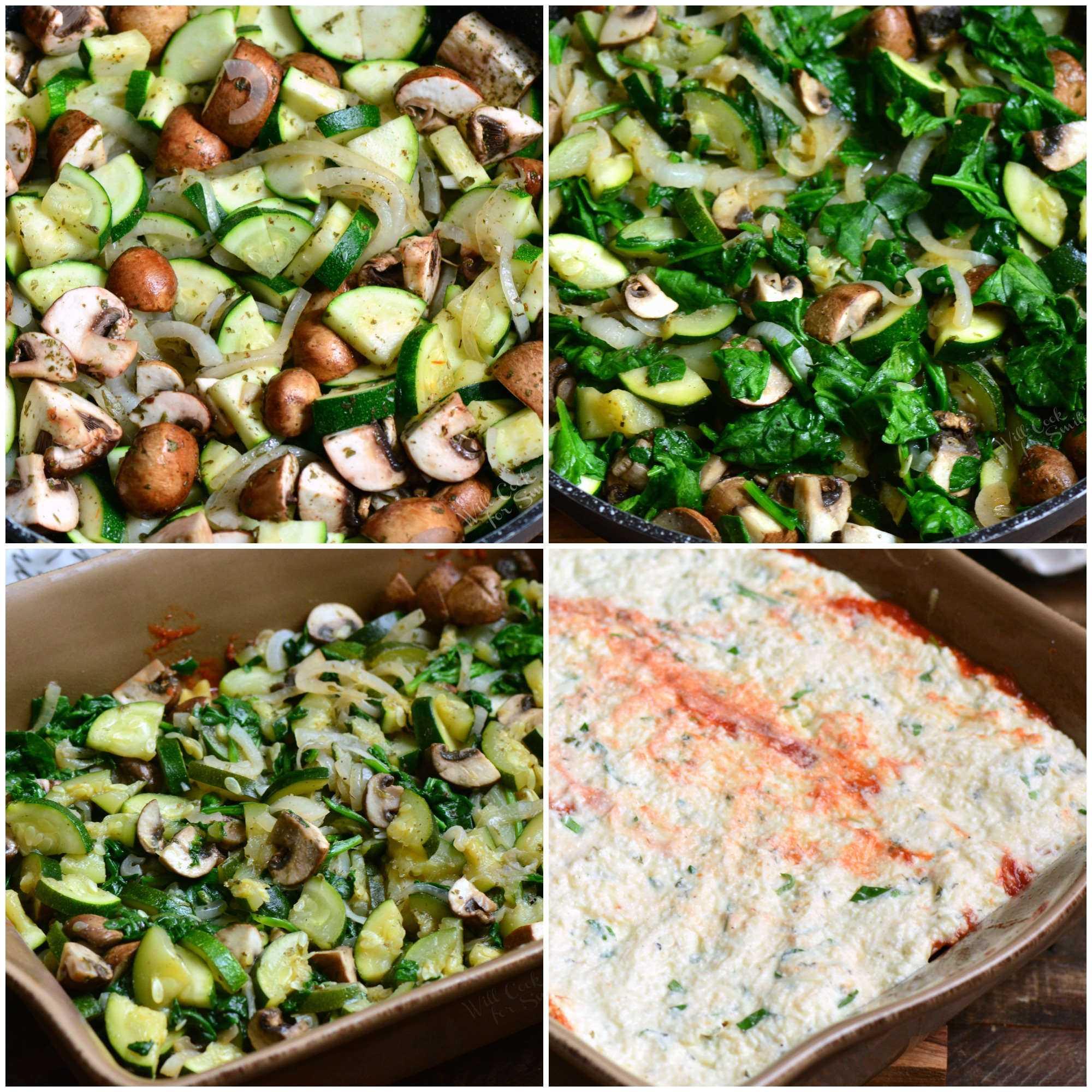 Como hacer lasaña de verduras