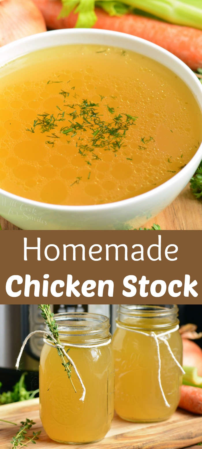 colagem de caldo de galinha