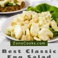 Los mejores sándwiches clásicos de ensalada de huevo para dos