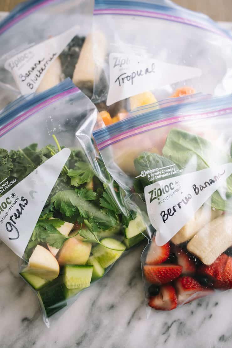 Smoothie Freezer Pack e 4 Receitas